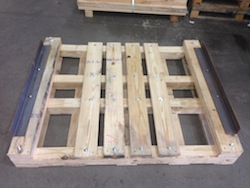 BDL Supply - Custom heavy duty pallet that holds over 15,000 lbs.