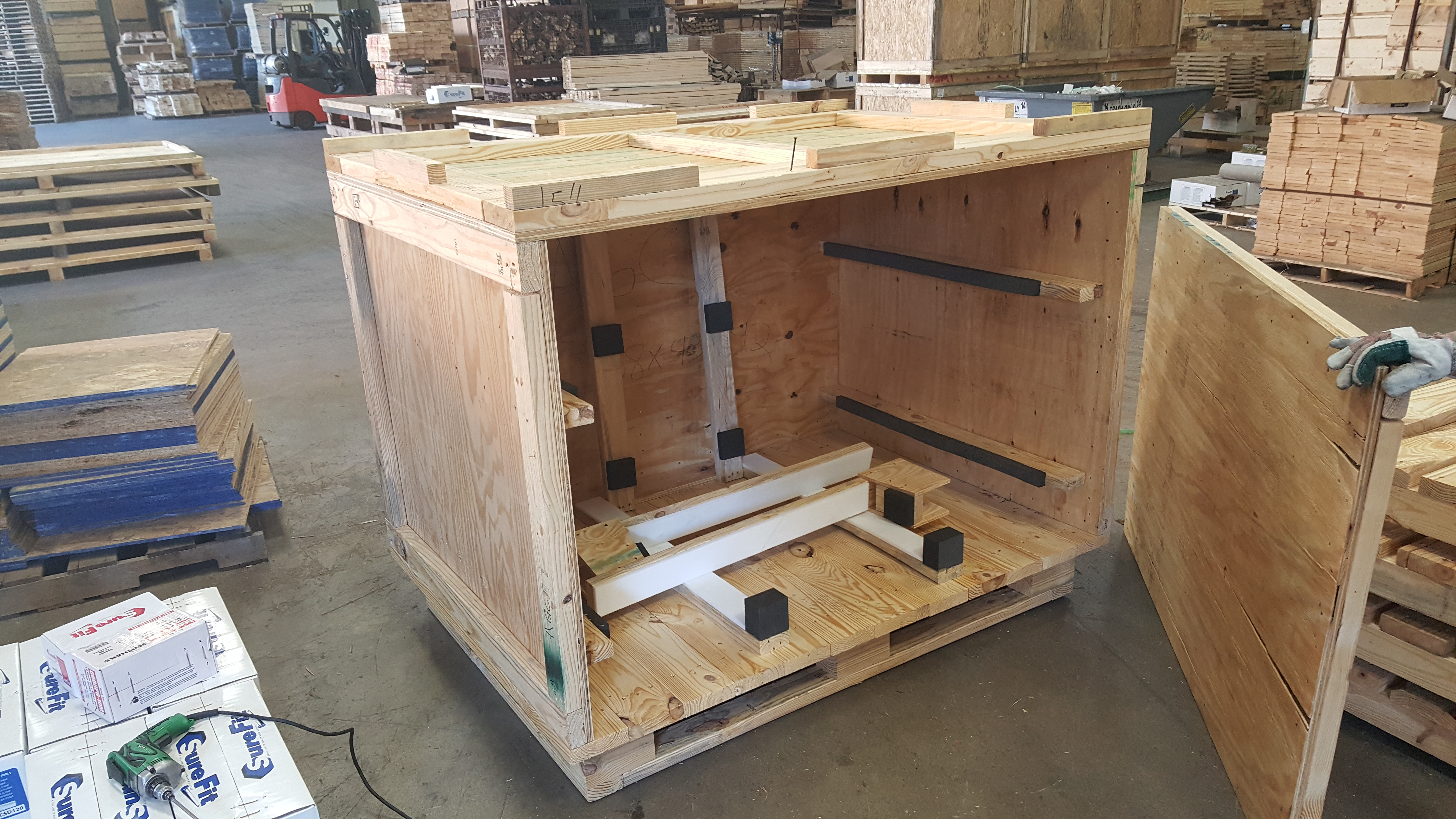 Custom Crate for Overseas Shipping
