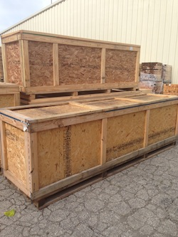 BDL Supply - custom crates for global shipping.